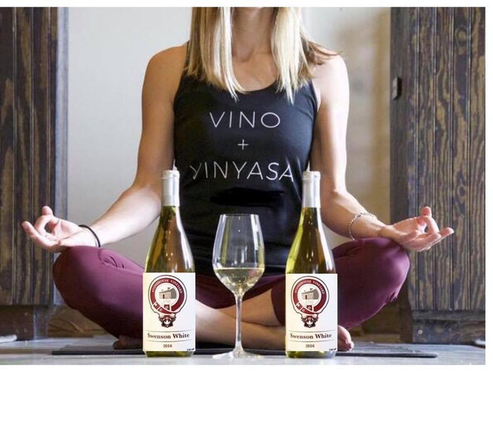 Yoga with Mel brought zen to the vineyard